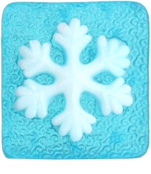 Bohemia Gifts & Cosmetics Snowflake ročno izdelano milo z glicerinom