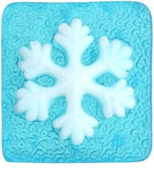 Bohemia Gifts & Cosmetics Snowflake savon fait à la main à la glycérine