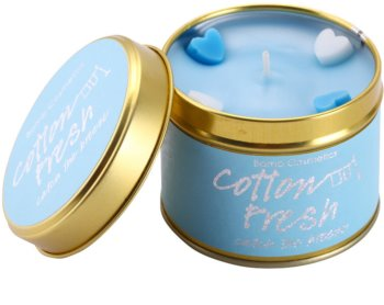 Bomb Cosmetics Cottom Fresh vela perfumado