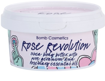 Bomb Cosmetics Rose Revolution tělové máslo