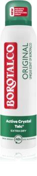 Borotalco Original dezodorant - antyperspirant w aerozolu przeciw nadmiernej potliwości