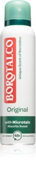 Borotalco Original Antiperspirant deodorantspray til at behandle overdreven svedtendens