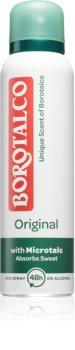 Borotalco Original desodorizante antitranspirante em spray contra suor excessivo