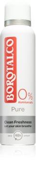 Borotalco Pure alumínium mentes dezodor spray formában 48h