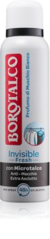 Borotalco Invisible Fresh deodorant ve spreji s 48 hodinovým účinkem