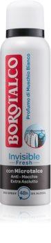 Borotalco Invisible Fresh desodorizante em spray com efeito de 48 horas