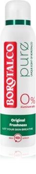 Borotalco Pure Original Freshness Deodorant Spray Without Aluminum Content