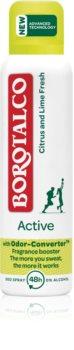 Borotalco Active Citrus & Lime αποσμητικό σε σπρέι 48 ώρες