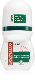 Borotalco Pure Original Freshness шариковый дезодорант без содержания солей алюминия