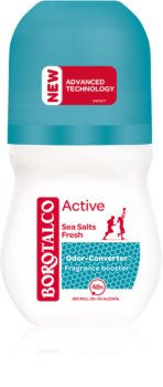 Borotalco Active Sea Salts déodorant roll-on effet 48h