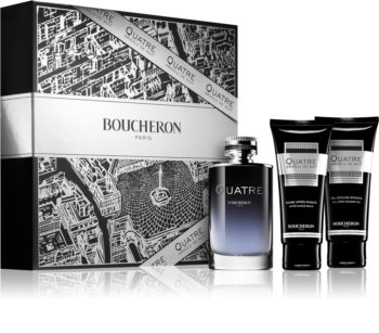 Boucheron Quatre Absolu de Nuit подарочный набор для мужчин