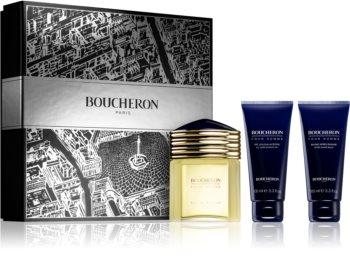 Boucheron Pour Homme zestaw upominkowy III. dla mężczyzn