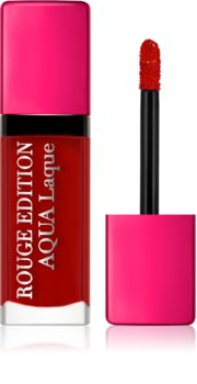 Bourjois Rouge Edition Aqua Laque Moisturizing Lipstick with High Gloss Effect