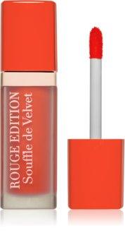 Bourjois Rouge Edition Souffle de Velvet течно червило