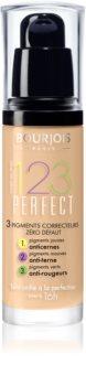 Bourjois 123 Perfect Nestemäinen Meikkivoide Täydelliseen Lookiin