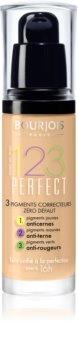 Bourjois 123 Perfect Flydende foundation Til et perfekt udseende