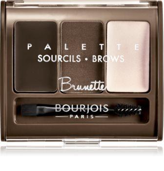 Bourjois Palette Sourcils Brows paleta za ličenje obrvi