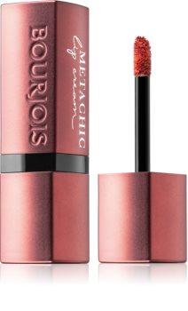 Bourjois Metachic Lip Cream matte lippenstift met metallic effect