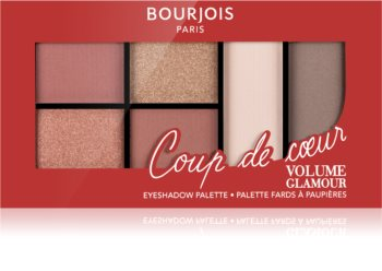 Bourjois Volume Glamour παλέτα με σκιές ματιών