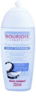 Bourjois Cleansers & Toners čisticí micelární voda na voděodolný make-up