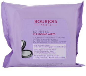 Bourjois Express čistiace utierky