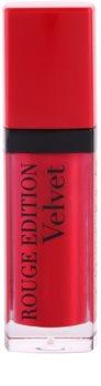 Bourjois Rouge Edition Velvet szminka w płynie  z matowym wykończeniem
