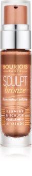 Bourjois Sculpt Bronze течен бронзант за озаряване на лицето