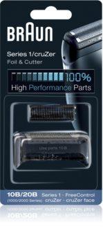Braun Series 1  10B/20B CombiPack CruZer Foil & Cutter láminas de recambio + lote de cuchillas de recambio