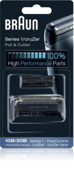 Braun Series 1  10B/20B CombiPack CruZer Foil & Cutter tiras e lâminas de corte
