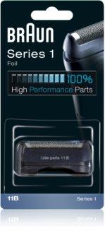 Braun Series 1  11B CombiPack Foil & Cutter касета: бриюча сітка та ріжучий блок