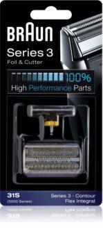 Braun Series 3  31S CombiPack Foil & Cutter brivna folija in rezilo