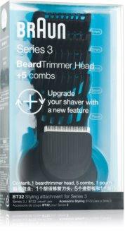 Braun Series 3  Shave&Style BT32 głowica trymera + 5 końcówek