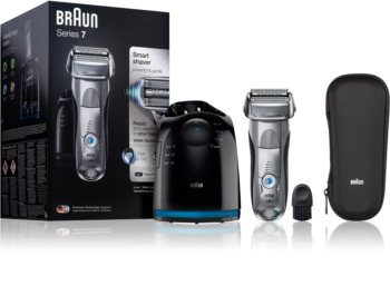 Braun Series 7 7899cc Wet&Dry with Clean&Charge System rasoio a lama
