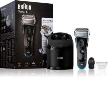 Braun Series 5 5190cc with Clean&Charge System Foil Hair Trimmer