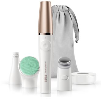 Braun FaceSpa Pro 913 3-i-1 system til fjernelse af ansigtshår, toning og rensning af hud