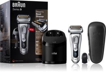 Braun Series 9 9390cc Silver with Clean&Charge System aparat za brijanje