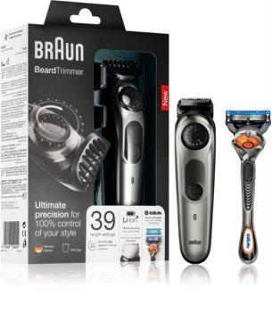 Braun Beard Trimmer BT7020 trimmer per capelli e barba + astuccio
