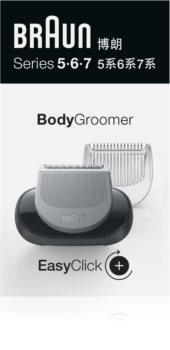Braun Series 5/6/7 BodyGroomer Trimmer voor Heel Lichaam  vervangende scheerkop