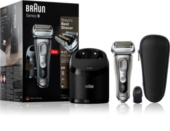 Braun Series 9 9365cc Graphite with Clean&Charge System rasoio a lama
