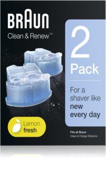 Braun Series Clean & Renew запасные блоки для чистящего аппарата