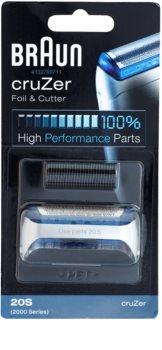 Braun Series 1  20S CombiPack cruZer tiras e lâminas de corte