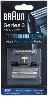 Braun Series 3  30B CombiPack Foil & Cutter lama e testina di ricambio