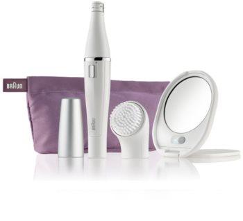 Braun Face 830 Epilator med rengörande borste för ansikte