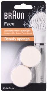 Braun Face 80-b Beauty Sponge ανταλλακτική κεφαλή 2 τεμ