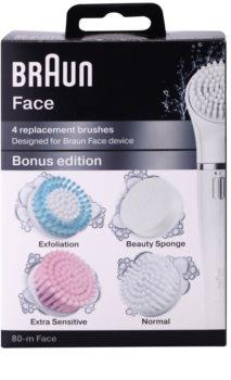 Braun Face  80-m Bonus Edition cabeça refill