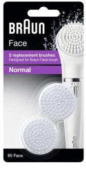 Braun Face  80 Normal cabeça refill 2 pçs