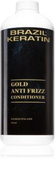 Brazil Keratin Gold kondicionér s keratinem pro poškozené vlasy