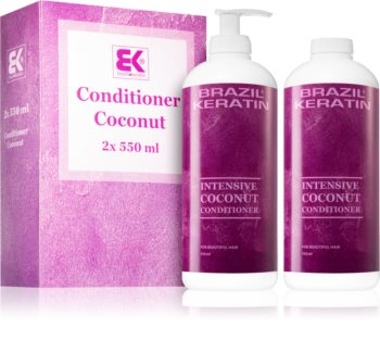 Brazil Keratin Coco Economy Pack with Nourishing and Moisturizing Effect