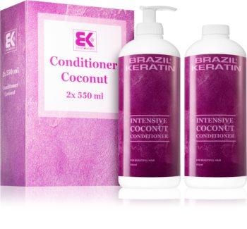 Brazil Keratin Coco výhodné balení pro výživu a hydrataci