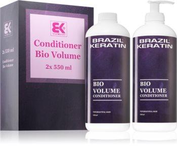Brazil Keratin Bio Volume dúsító kondicionáló (finom és lesimuló hajra)